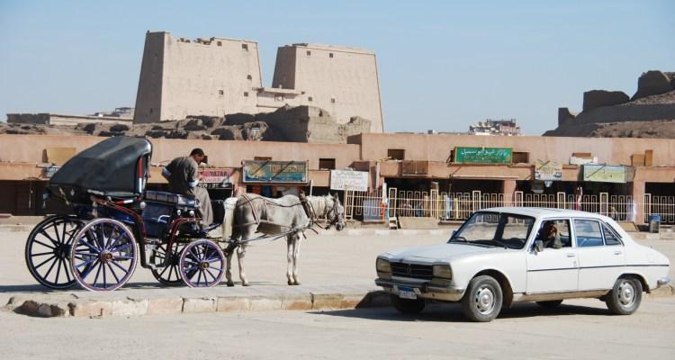 Horus Tempel von Edfu Ägypten Nil Nilkreuzfahrt