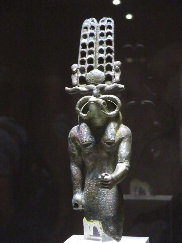 Krokodilmuseum Kom Ombo Amun-Statue Nil Ägypten