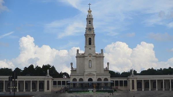 Wallfahrtsort Fatima Portugal Basilica Antiga