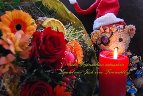 Frohe Weihnachten wünschen Daniel und Jack vom Fernwehblog