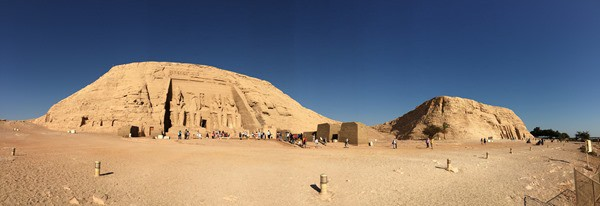 Panorama Abu Simbel Ägypten Urlaub Nilkreuzfahrt