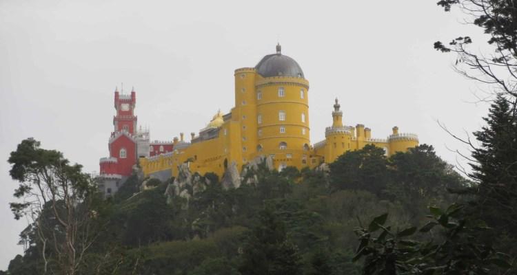 00 Palast Palacio Nacional da Pena Schloss Sintra Lissabon Portugal