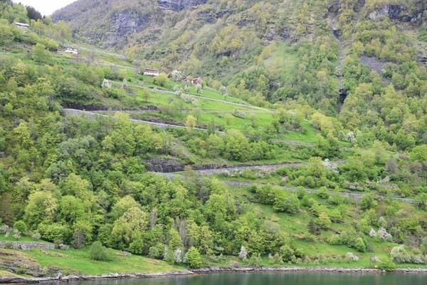 Geirangerfjord Norwegen 11 Serpentinen Adlerstrasse