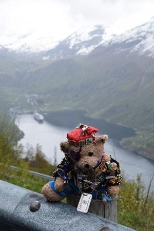 Jack Bearow Geirangerfjord Norwegen Troll Nordland-Kreuzfahrt MSC Sinfonia