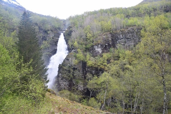 Sivlefossen Wasserfall Norwegen