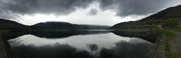 Panorama Vangsvatnet See Voss Vossevangen Norwegen