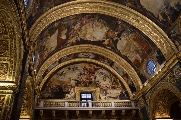 Malta Valletta Urlaub Sehenswürdigkeiten Tipps Kirche Kathedrale St. Johns Co-Cathedral