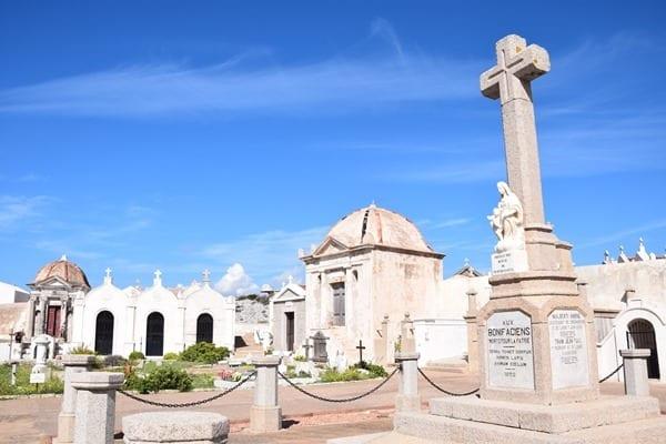 Seefahrerfriedhof Cimetiere Marin de Bonifacio Korsika Frankreich