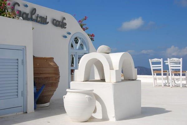 Flitterwochen wohin Santorini Hochzeitsreise günstig Kykladen Griechenland