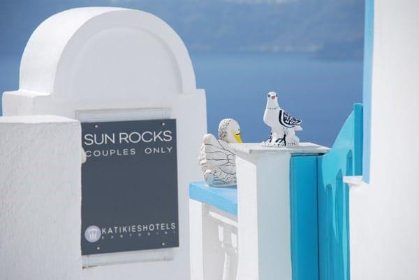 Flitterwochen wohin Santorini Hochzeitsreise günstig Pärchenhotel Kykladen Griechenland