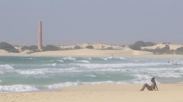 Hochzeitsreise wohin Boa Vista Kapverden Flitterwochen einsamer Strand