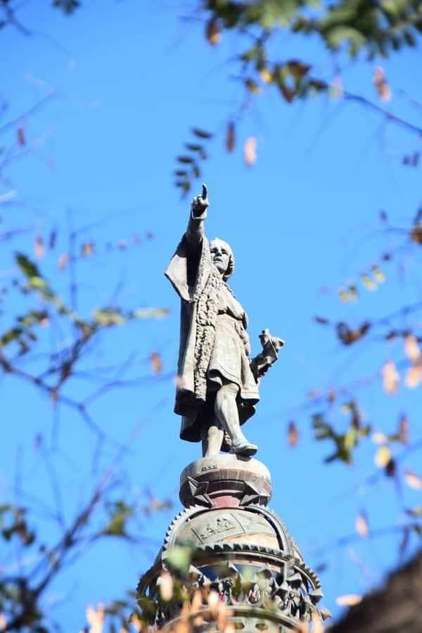 02_Christoph-Kolumbus-Statue-Hafen-Barcelona-Spanien
