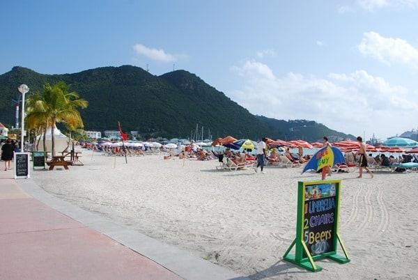 Strand-Saint-Martin-Karibik-Angebot