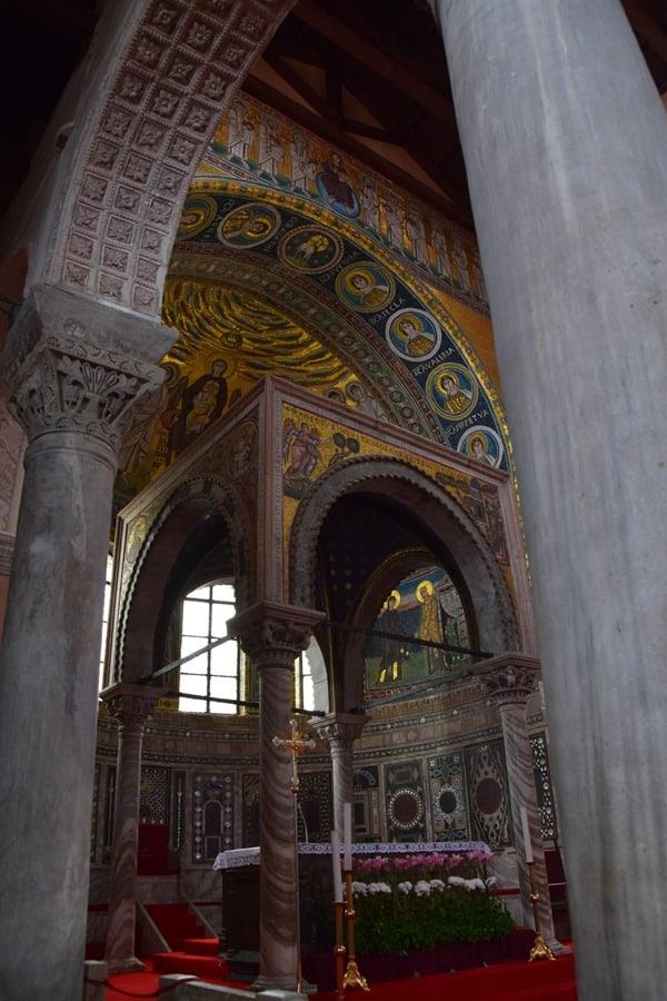 Porec Kroatien Altar Euphrasius Basilika Istrien
