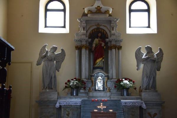 Porec Kroatien Seitenaltar Basilika Istrien