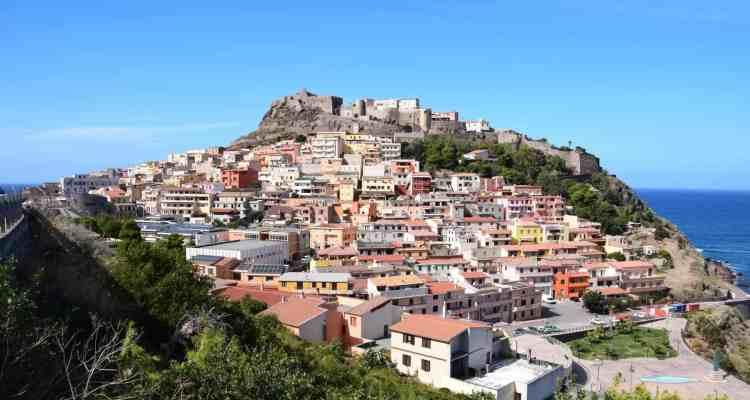 Castelsardo Sardinien Italien