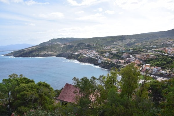Castelsardo Sardinien Ausblick Costa Paradiso Italien