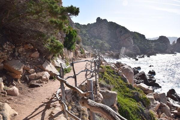 Wanderung Strand Li Cossi Costa Paradiso Sardinien Italien