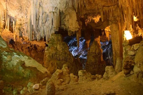In der Grotte di Nettuno Neptungrotte Sardinien Alghero Italien