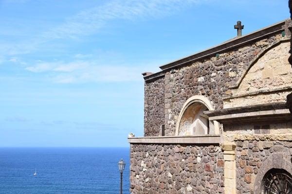 Castelsardo Sardinien Kirche La Cattedrale di Sant'Antonio Abate Italien