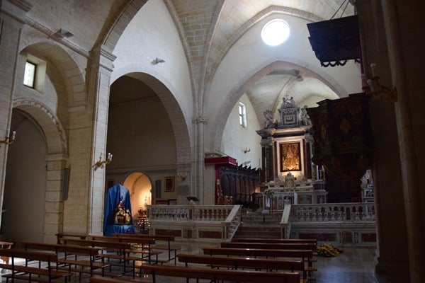 Castelsardo Sardinien Kirche Altar La Cattedrale di Sant'Antonio Abate Italien