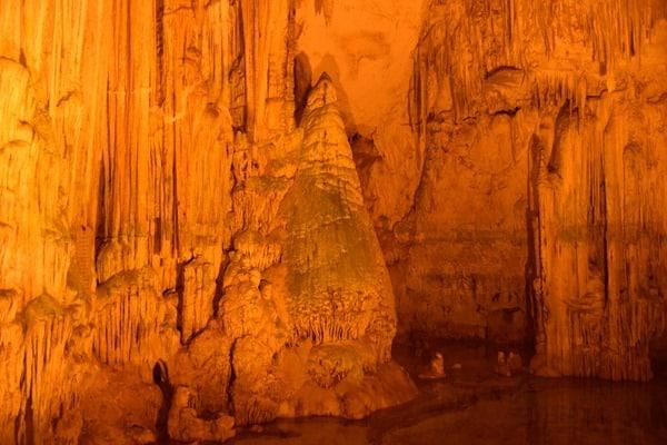 Der Christbaum Hauptraum Grotte di Nettuno Neptungrotte Sardinien Alghero Italien