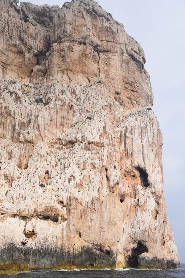Capo Caccia Klippen Grotte di Nettuno Neptungrotte Sardinien Alghero Italien