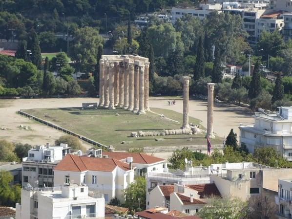 12_Olympieion-Tempel-des-Zeus-Athen-Griechenland-Kreuzfahrt-Mittelmeer