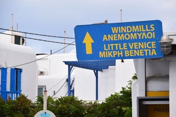 13_Kreuzfahrt-Mykonos-Stadt-Wegweiser-Klein-Venedig-Windmuehlen-Griechenland