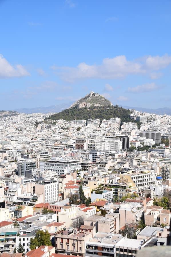 16_Blick-von-der-Akropolis-auf-Athen-Griechenland-Mittelmeer-Kreuzfahrt