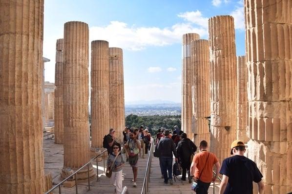 19_Propylaeen-Akropolis-Athen-Griechenland-Kreuzfahrt-Mittelmeer