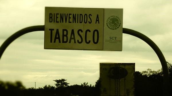 Roadtrip Palenque Mexiko Sehenswürdigkeiten leaving Tabasco