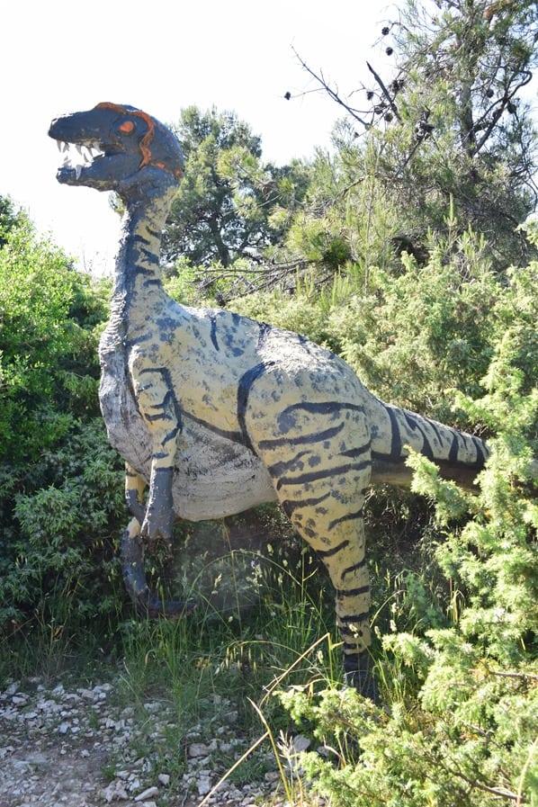 Naturpark Kap Kamenjak Grako-Park Dinosaurier Istrien Kroatien