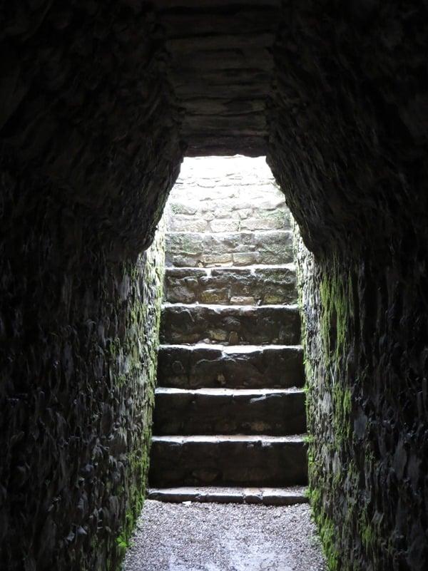 Palenque Mexiko Sehenswürdigkeiten Maya Stätte Ruine Palast Treppen