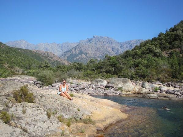 Flussbaden-Fangotal-Korsika