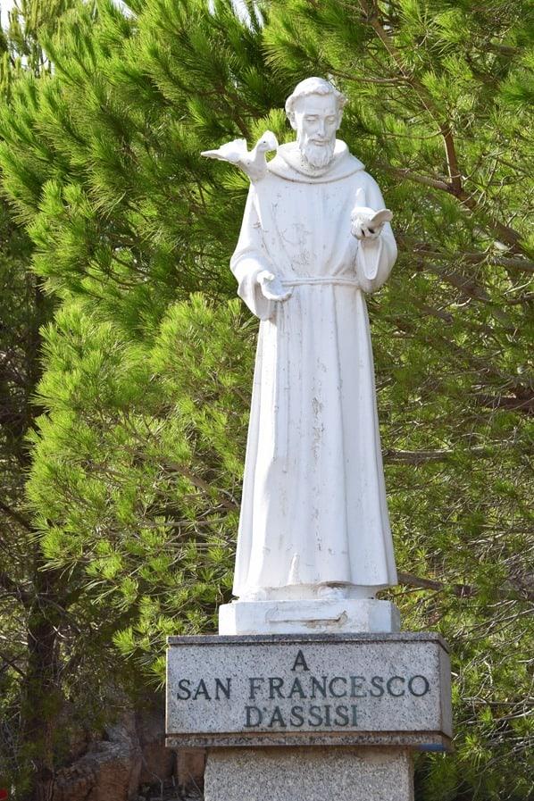 La Maddalena Sardinien Oasi San Francesco D'Assisi Italien Mittelmeer
