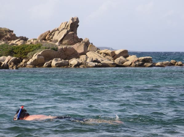 La Maddalena Sardinien Schnorcheln Strand Meer Italien Mittelmeer