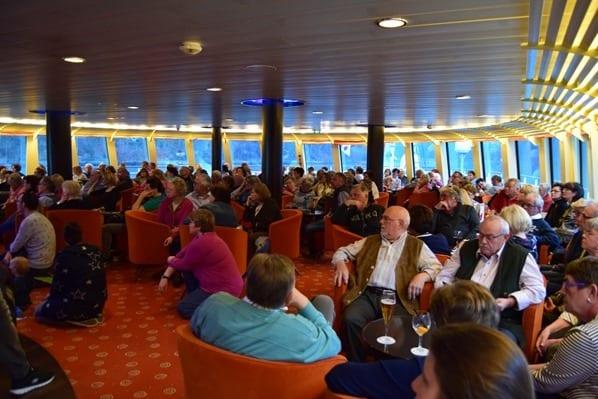a-rosa flusskreuzfahrt donau Kreuzfahrt Sicherheitseinweisung Lounge
