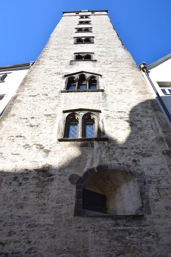 Regensburg Sehenswürdigkeiten Goldener Turm Patrizier Bayern Städtereise
