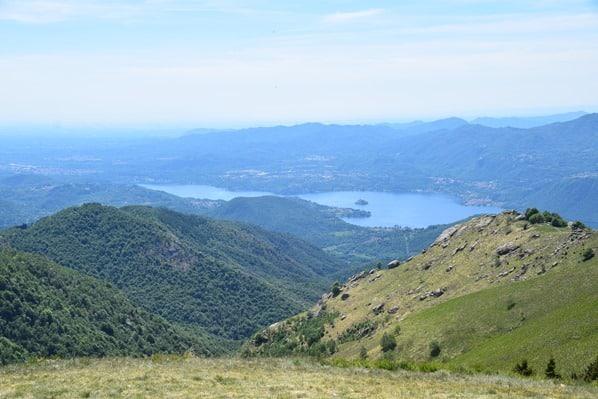 Ortasee Lago D'Orta Monte Mattarone Piemont Italien