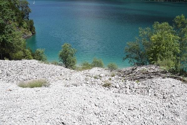 Gaisalm Achensee wandern Wanderung Geröllfeld Tirol Österreich