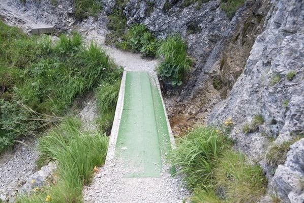 Gaisalm Achensee wandern Holzsteg Tirol Österreich