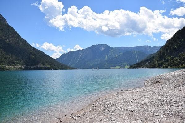 Gaisalm Achensee wandern Ufer Tirol Österreich