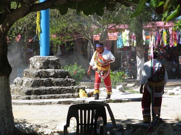 Tulum Mexiko Maya Tempel Voladores Yucatan Karibik