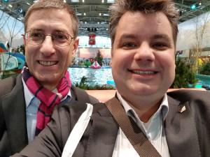 Kreuzfahrtblogger Franz Neumeier-Daniel Dorfer Reisemesse free