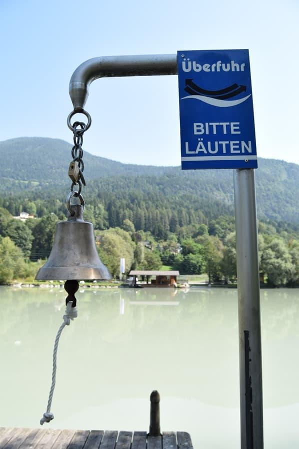 Drauradweg Überfuhr Fähre Drau Kärnten Österreich