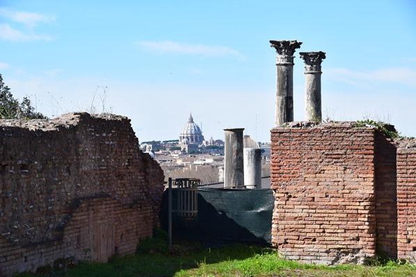 18_Ruine-Palatin-Citytrip-Rom-Italien
