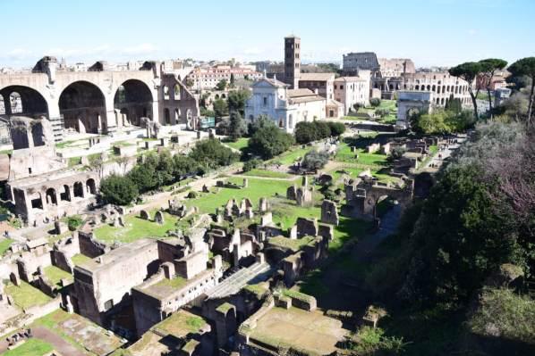25 Forum Romanum Kolosseum Colosseo Citytrip Rom Italien