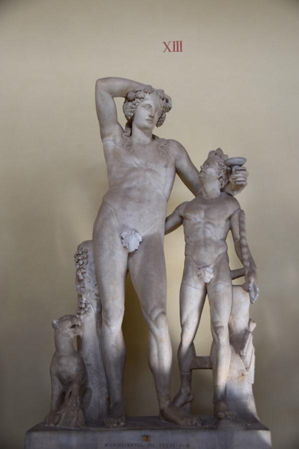 Vatikan Vatikanische Museen Rom Statuen Italien