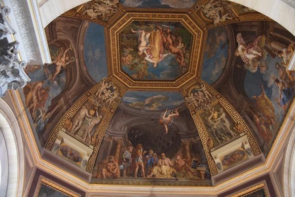 Vatikan Vatikanische Museen Fresko Deckengemälde Italien